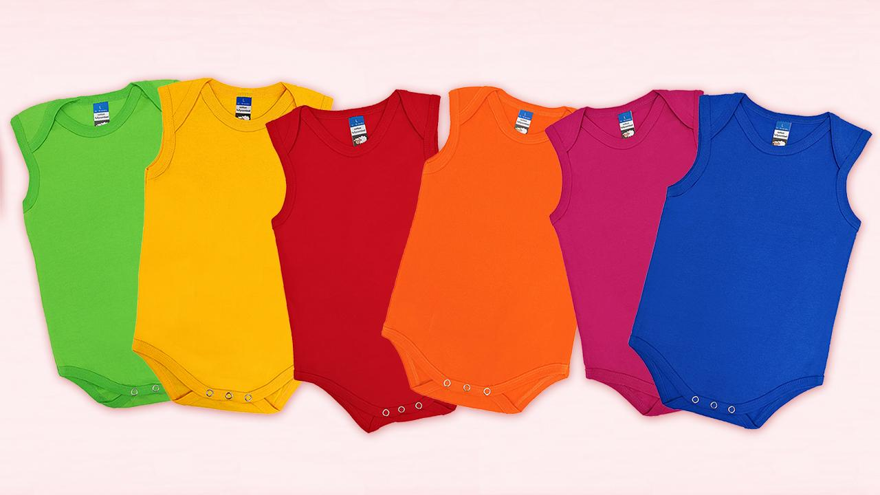 Happy Biri's 100% Fully Combed Cotton Singlet Rompers