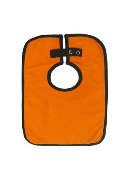 Candy Bar Baby Bibs - Orange
