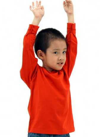 MD Kids Long Sleeve T-Shirt (4SQ)