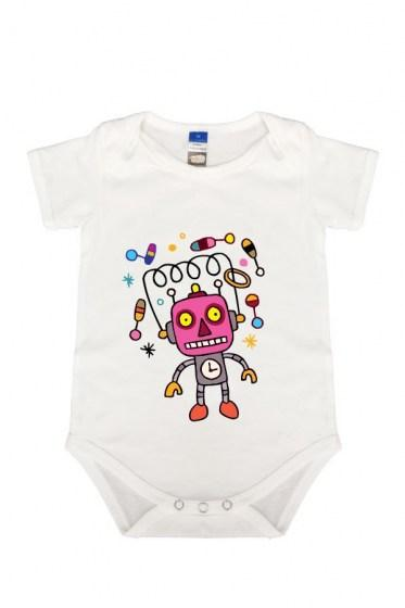 Crazy Tinker basic Rompers white