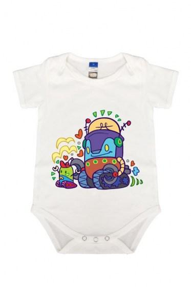 Robble & Kitt Rompers White